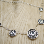 Oxidised Sterling Silver