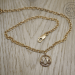 Rose Gold Plated 18ct