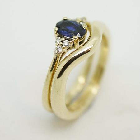Handmade diamond wedding rings hertfordshire