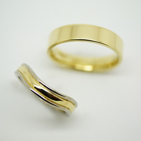 Gold wedding rings hertford